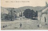 EES. 121 / C P A   -SAALES  (67)  PLACE DU MARCHE ET L'HOTEL DE VILLE - Non Classés