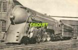 Locomotives Des Etats-Unis, Machine Hudson, Verso Avec Notes Techniques, éd H M P 812 - Zubehör