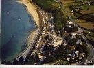 LOCQUIREC--1985--Vue Aérienne, La Plage Des Sapins Et Les Campings ,cpm  éd Jack--belle Carte - Locquirec