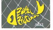 LETTONIA (LATVIA) - TELE2  (RECHARGE GSM) -  GOLDFISH ZZ: LETTER O WITH LOGO TELE 2 - USED - RIF. 5266 - Latvia