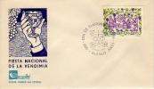 FIESTA NACIONAL  DE LA VENDIMIA  1986    SOBRE 1ER DIA DE EMISION OHL VENDAGE VINO WINE VINHO VIÑEDOS VIÑATEROS - Vinos Y Alcoholes