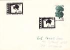 CHARLES CHAPLIN, 1955, SPECIAL COVER, OBLITERATION CONCORDANTE, ROMANIA - Cinéma