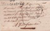 """Cursive """"30 MONTASTRUC""""associée Au Cad 12 Yolouse,sans Corresp.,20 Juin 1852. - 1849-1876: Klassik"""