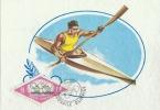D05727 CARTE MAXIMUM CARD 1964 ROMANIA - KAYAK CANOE CP ORIGINAL - Rowing