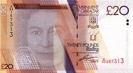 * GIBRALTAR - 50 POUNDS 2006 UNC - P 34 PREFIX AA - Gibilterra