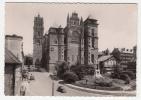 12 - Rodez - La Cathédrale Et La Place D'Armes - Editeur: Flor N° 3629 (voitures, Automobile) - Rodez