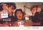 Télécarte Japon * COCA COLA  (1012) JAPAN PHONECARD * TELEFONKARTE * COKE * - Werbung