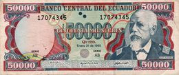 ECUADOR - 50,000 SUCRES 1997 Vf - Ecuador