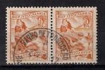 Yugoslavia 1951. Definitive Used Pair With Postmark BACKO PETROVO SELO - 1945-1992 Repubblica Socialista Federale Di Jugoslavia