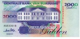 Suriname 2000 2,000 GULDEN 1995 P 142 Unc - Surinam