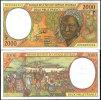 CENTRAL AFRICAN STATES CONGO 2000 FR. P 603 P AU-UNC - Congo