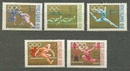 USSR 1968 SK № 3566-3570 XIX Summer Olympics. MEXICO-68 - Sommer 1968: Mexico