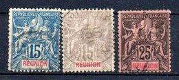 Réunion Y&T 37°, 39°, 48° - Unclassified