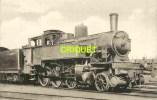 Locomotives Réseau P L M , Machine 130 AT 10 , Notes Techniques Au Verso , éd H M P 551 - Matériel