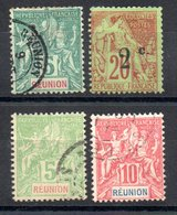 Réunion Y&T 35°, 45 I(*), 46°, 47° - Unclassified