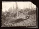 Bannoncourt Près Saint Mihiel Parc Régional De Lorraine Vers 1906 Gdes Manoeuvres Militaires Du 29e RI Travail Au Bois - Krieg, Militär
