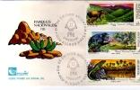 PARQUES NACIONALES II  1989   SOBRE 1ER DIA DE EMISION OHL - Environment & Climate Protection