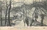 REVOLUTION EN CHAMPAGNE EMEUTES GREVES 1911 AY INTERIEUR DE LA MAISON AYALA INCENDIEE - Sciopero