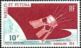 WALLIS ET FUTUNA 1966 - Yv. PA 26 * SUP   Cote= 4,50 EUR - Satellite D1 ..Réf.W&F11483 - Luftpost