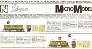 Trains électriques/Catalogue/LIM A Micro Model/Années Soixante                      VOIT18 - Altre Collezioni