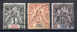 Grande Comore Y&T 1°, 2°, 5° - Unclassified