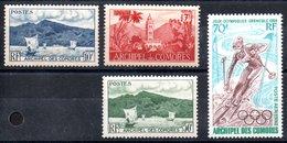 Comores (Archipel)   Komoren  1x Luftpost Y&T 1**, 2*, 7*, PA 22** - Luftpost