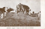 """SOMALIE - BENADIR - Vagadi - Gruppo Di Curiosi Sopra Un Termitaio - Timbre De """"Benadir"""" Au Verso - Somalie"""