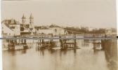 77 MELUN INONDATIONS DE 1910 CARTE PHOTO - LA PASSERELLE - France