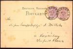 SELTENE DESTINATION LUXEMBURG 1879 Preußen-NV Aplerbeck OPD Dortmund - Briefe U. Dokumente