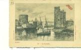 17/LA ROCHELLE - Vue De L´entrée Du Port - Illustration De G.Fraipont - La Rochelle