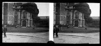 Belle Plaque Stereo Début De Siècle Saint Trond Sint Truiden - Plaques De Verre