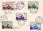 Belgique - Carte Postale De 1938 - Série Complète - Roi Leopold III - Covers & Documents