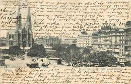 Autriche - Austria - Vienne - Wien - Maximilianplatz Mit Votivkirche - état - Vienna Center