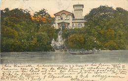 Autriche - Austria - Vienne - Wien - Konstantinhügel Im K.K. Prater - état - Vienna Center