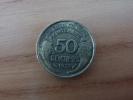 Pièce Bronze 50 Centimes MORLON 1932 MD** - Francia
