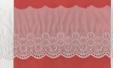 Broderie Sur Tulle ? , 8 Metres - Laces & Cloth