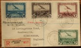 BELGIUM 1930 REGISTERED COVER BRUSSELS TO BIRMINGHAM ENGLAND - Belgien