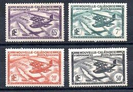 Nouvelle-Calédonie  Neukaledonien Y&T PA 29*, PA 31*, PA 33*, PA 34* - Neukaledonien