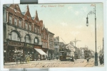HULL , King Edward Street . - POSTCARD, COLORS, ANIMATED, USED, 1905 DESTINATION ITALY, SMALL SIZE 9 X 14, - Hull