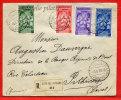 VATICAN LETTRE RECOMMANDEE DU 09/06/1939 DU VATICAN POUR PITHIVIERS FRANCE COVER - Vatican