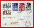 VATICAN LETTRE RECOMMANDEE DU 28/01/1960 DU VATICAN POUR PITHIVIERS FRANCE COVER - Vatican