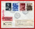 VATICAN LETTRE RECOMMANDEE DU 10/01/1964 DU VATICAN POUR PITHIVIERS FRANCE COVER - Covers & Documents