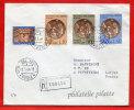 VATICAN LETTRE RECOMMANDEE DU 12/03/1964 DU VATICAN POUR PITHIVIERS FRANCE COVER - Covers & Documents