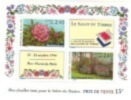 BLOC FEUILLET N° 15 1993  SALON DU TIMBRE 1994 PARC FLORAL RHODODENDRONS  NEUF °° - Mint/Hinged