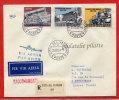 VATICAN LETTRE RECOMMANDEE DU 25/10/1961 DU VATICAN POUR PITHIVIERS FRANCE COVER - Covers & Documents