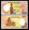 EQUATORIAL GUINEA 500 FRANCS 1985 P 20 UNC - Guinée Equatoriale