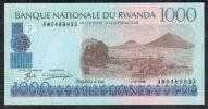 RWANDA - 1000 1,000 FRANCS 1998 UNC - P 27 - Rwanda