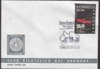 URUGUAY FDC ACTORS SOCIETY 50TH ANNIVERSARY AAC9822 - Uruguay