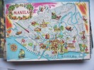 Azië Asia Philippines Philippijnen Manila With Map - Filippijnen