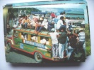 Azië Asia Philippines Philippijnen Tacloban Leyte Overloaded Jeepney - Filippijnen